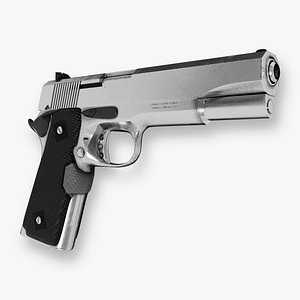 3D Handgun Smith and Wesson 1911