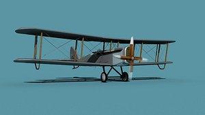 3D model Airco DH-4 V00 Mail Plane