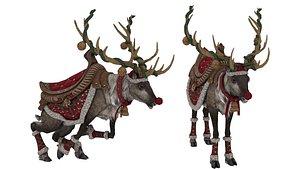 Reindeer 3D Model 3D