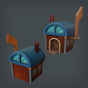 3D Mailbox House