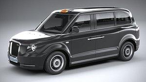3D London Taxi Cab LEVC passenger 2021