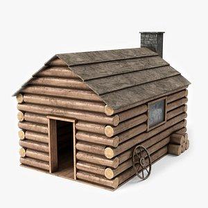 3D house building architecture model