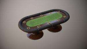 poker table pbr 3D