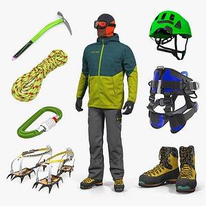 3D climbing equipment 5 model