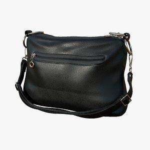 3D leather bag PBR VR