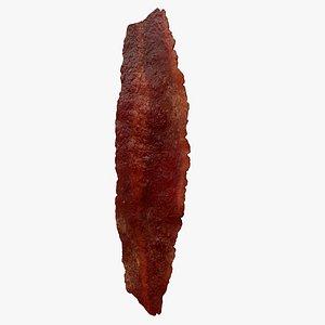 3D bacon turkey model