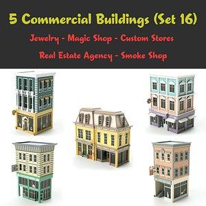 set 16 store 3D model