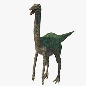 gallimimus dinosaur 3D