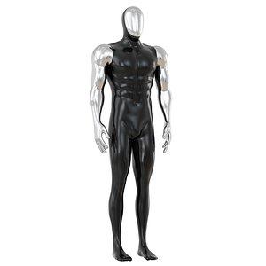 3D model man mannequin sport