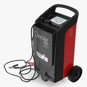 3D Telwin Professional Battery Charger Doctor Start 630