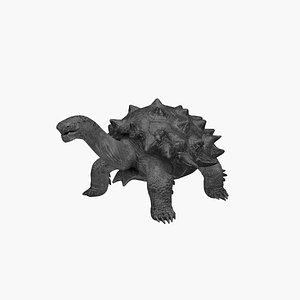 Black Turtle 3D model