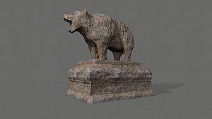 Bear Statue 5 3D