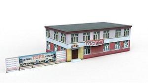 russian environment denlog 3D model
