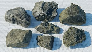 3D rocks packed model