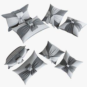 pillows 100 3d max