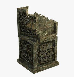 3D aztec model