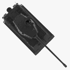 3D H....  Black Tiger model