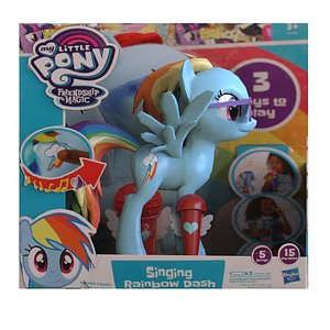 3D Pony Toy Box model