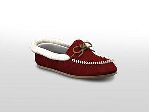 Winter Flat Shoes model
