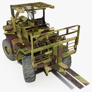 pettibone rough terrain camouflage 3D model