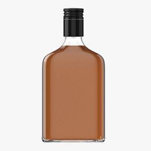 Whiskey bottle 15 3D