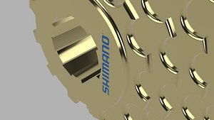 Shimano Casette 3D