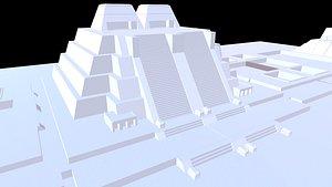 tenochtitlan city templo 3D model