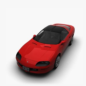 chevrolet camaro t-roof 3D model