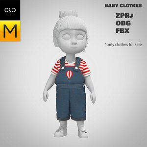 3D Baby clothes