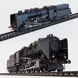 3D Mav Class 424 with railroad