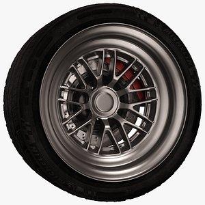 3D Car Wheel Pro