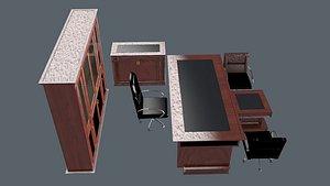 OFFICE ROOM SET 3D