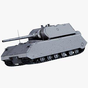 viii maus tank 3D