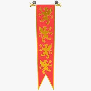 knight flag model