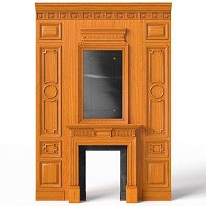 Fireplace 01 06 3D model