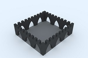 3D stand 15 model
