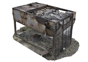 3D Old grill
