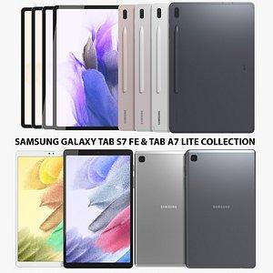 Samsung Galaxy Tab S7 FE and Samsung Galaxy Tab A7 Lite Collection model