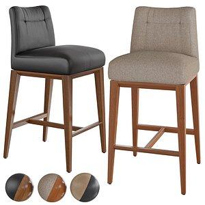 Bar stool Tosca 3D model