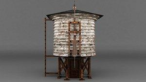 3D watertower