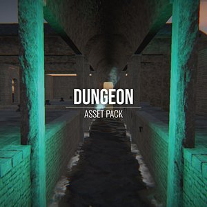 3D model Dungeon - Asset Pack - All Formats