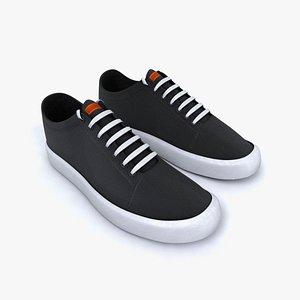 VANS style shoes Textured different colors 3D