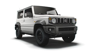 suzuki jimny jc long 3D model