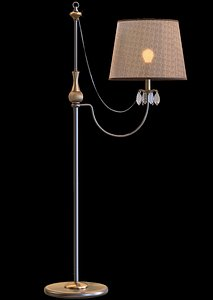 3D lamp lights floorlamp