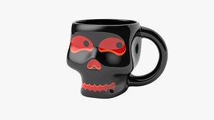 3D Skull Mug