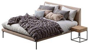 3D zanotta bed model