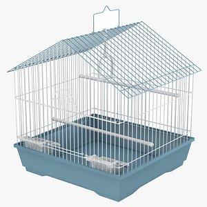 3D Bird Cage 01 model
