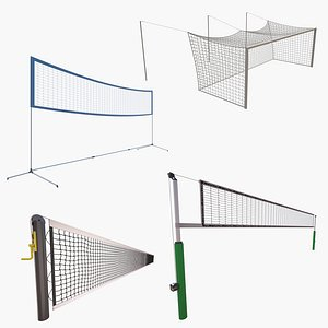 Sports Nets Collection  2 3D model
