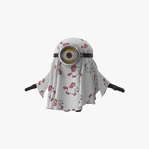 minion ghost stuart 3D model