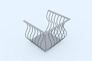 balcony 12 3D model